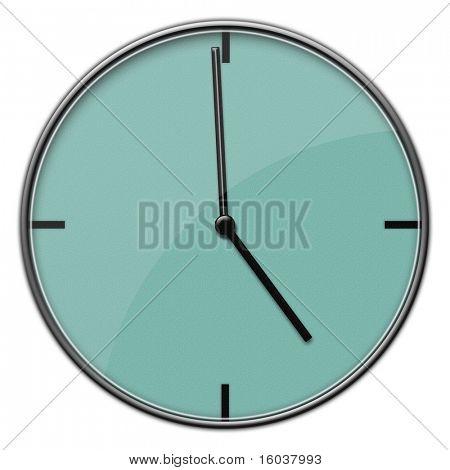 Modern Clock 5:00