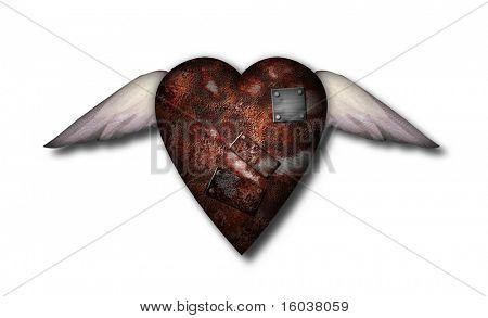 A well worn heart