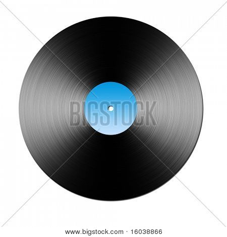 Large raster illustration of Vinyl LP