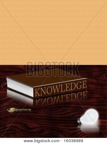 Book of Knowledge, Lit bulb and key
