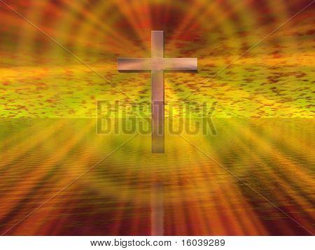 Cross Background