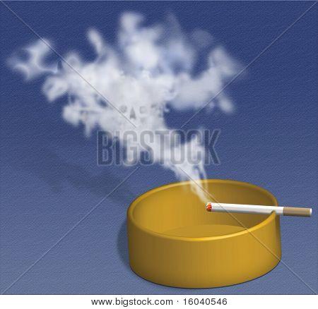 Smoking Kills - Skull Smoke