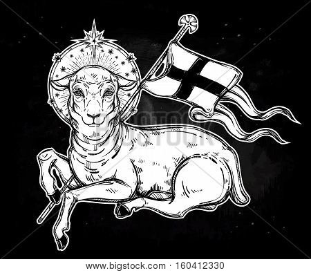 Agnus Dei Lamb Christian Tattoo Pictures To Pin On Pinterest