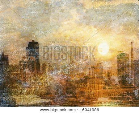 Stadt Eindruck