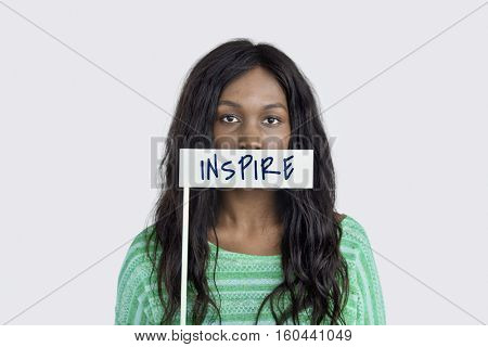 Inspire Dream Big Expectation Word Concept