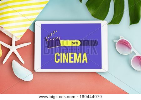 Entertainment Multimedia Theatre Movies Concept