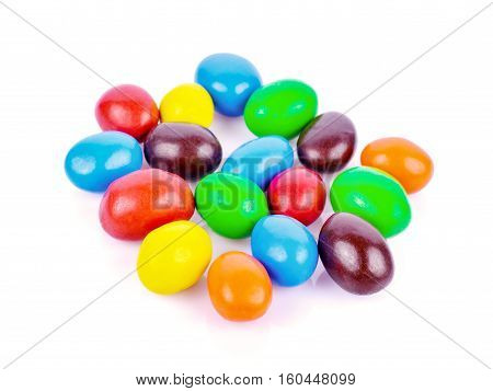 Candy Coated Chocolate Shock turnovers implant beans.
