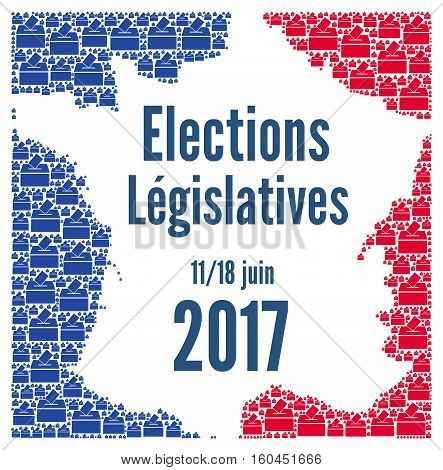French legislative election 2017 for the national assembly in France