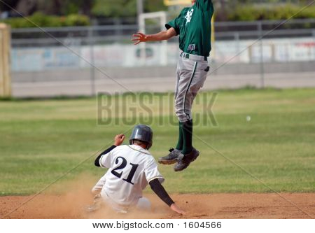 Safe On Second Base