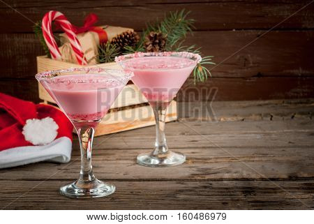 Traditional Christmas Candy Cane Punch