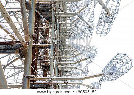 View Radar Inside And Diagonally. Chernobyl, Ukraine.