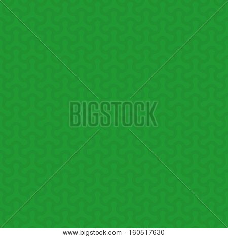 Green Neutral Seamless Pattern for Modern Design in Flat Style. Tileable Geometric Vector Background.