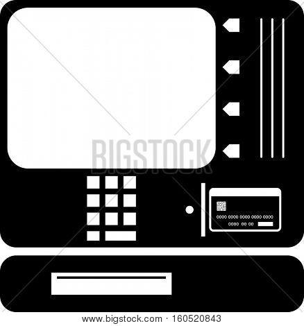 ATM Icon Vector Illustration