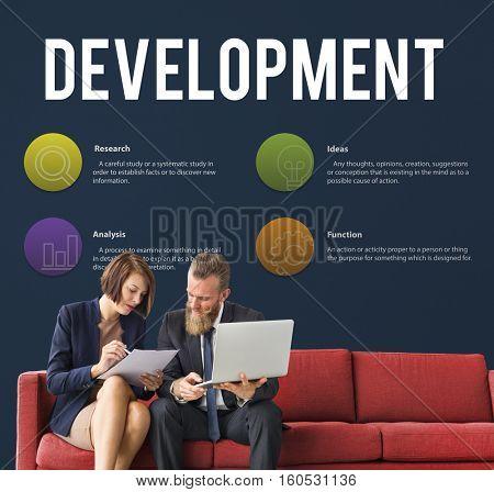 New Product Development Marketing Concept