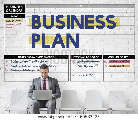 Business Plan Process Strategy Solution Vision Concept