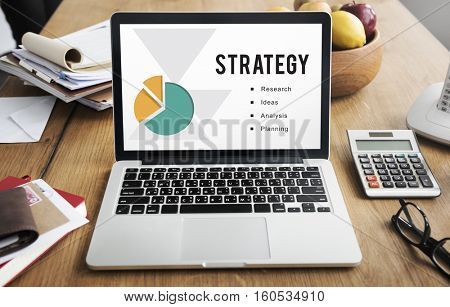Business Performance Branding Strategy Concept
