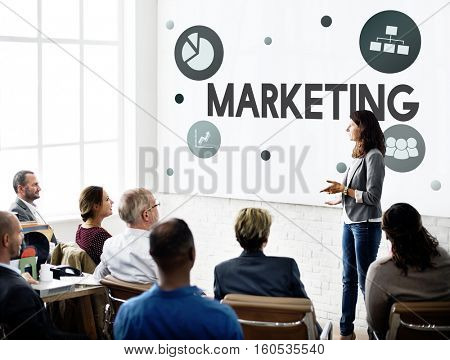 Marketing Creative Process Strategy Development Concept