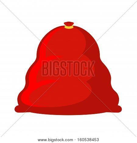 Santa Bag Large. Huge Red Sack With Gifts. Christmas Sackful Of King Size