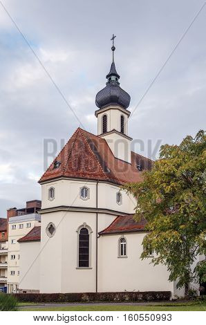 Abbey church in former monastery Kloster Maria Hilf Buhl Germany