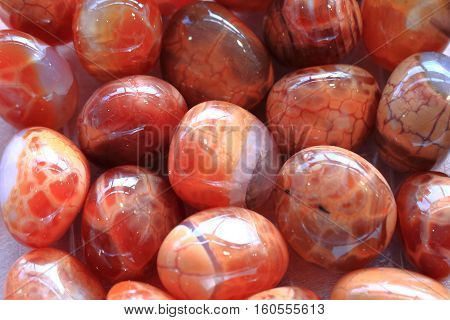 Red Fire Agate