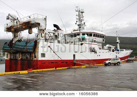 Iceland - Fishing Ship