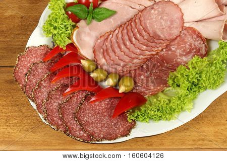 Polish Ham And Sausage