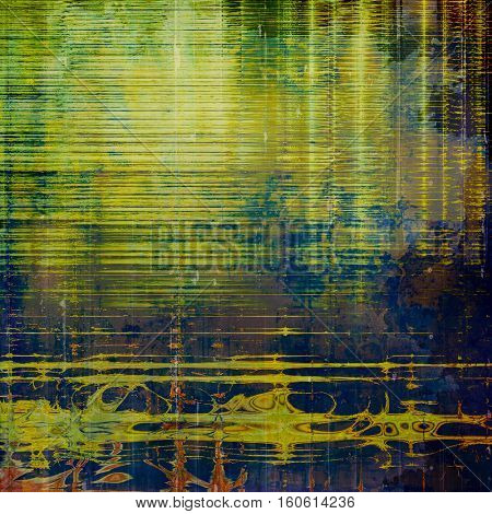 Grunge antique frame, vintage style background. With different color patterns: yellow (beige); brown; green; blue; purple (violet)