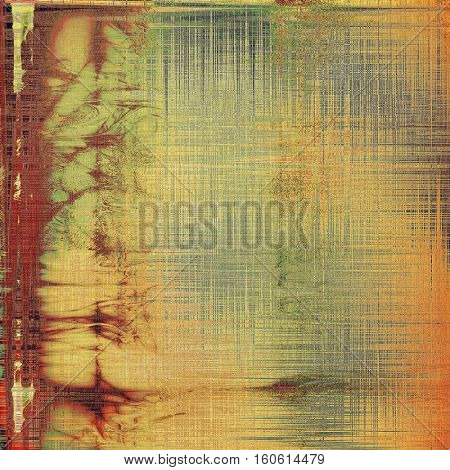 Vintage mottled frame, textured grunge background with different color patterns: yellow (beige); brown; gray; red (orange); purple (violet); pink
