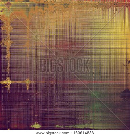 Art grunge background, vintage style textured frame. With different color patterns: yellow (beige); brown; green; red (orange); purple (violet); pink