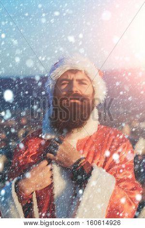 Christmas Bad Santa Outdoor