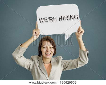 Hiring Career Employment Human Resources Concept