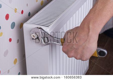 Heating Radiator Installation
