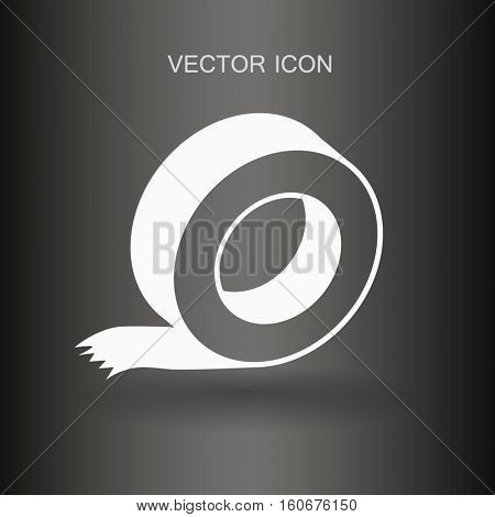 reel of adhesive tape vector illustration