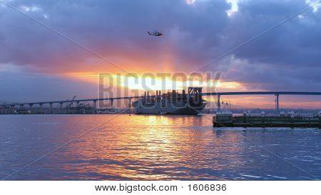 Morning At San Diego Bay