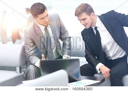 Successful business team at the workplace
