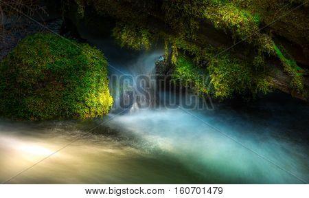 Clearwater Falls Douglas County Oregon Umpqua National Forest