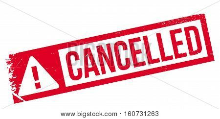 Cancelled rubber stamp. Grunge design with dust scratches. Effects can be easily removed for a clean, crisp look. Color is easily changed.