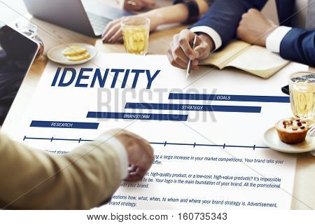 Identity Design Creation Advertising Concept