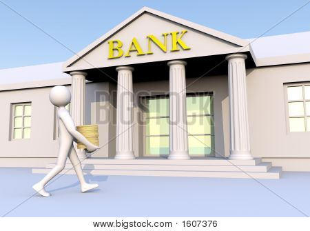 Bank & Man & Money 2