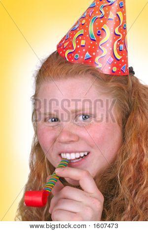 Yellow Party Portrait