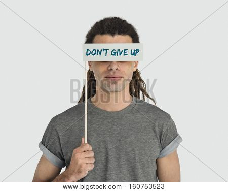 Do not Give Up Optimism Motivate Word Concept