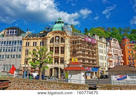 Bank Sparkasse At Promenade Karlovy Vary