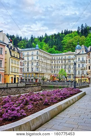 Luxury Grand Hotel Pupp And Promenade Of Karlovy Vary
