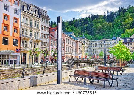 Luxury Grand Hotel Pupp On Promenade Of Karlovy Vary