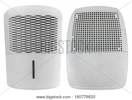 image of electric heater isolated on white background