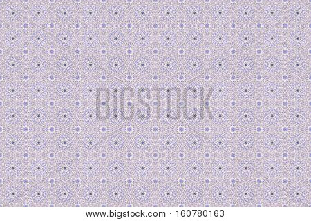 Abstract raster mosaic pattern background in light blue and white tones