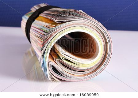 Many color magazines