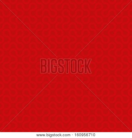Red Neutral Seamless Pattern for Modern Design in Flat Style. Tileable Geometric Vector Background.