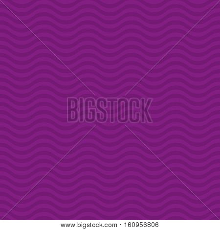 Wavy pattern. Purple Neutral Seamless Pattern for Modern Design in Flat Style. Tileable Geometric Vector Background.