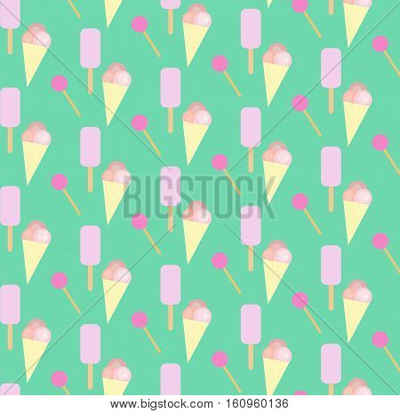 candy, ice-cream, background, sweet, food, pattern, frozen,